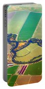 Planet Art Colorful  Midwest Aerial Portable Battery Charger