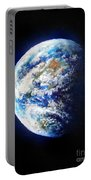 Planet Earth. Space Art Portable Battery Charger