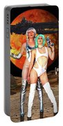 Planet Of The Space Vixens Portable Battery Charger