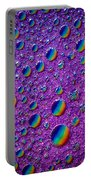 Planetary Rainbow Drop Alignment Portable Battery Charger