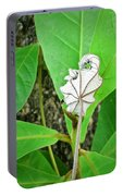 Plant Artwork Portable Battery Charger