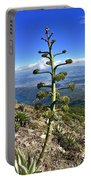 Plant On Volcano Slope Portable Battery Charger