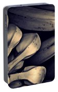 Plantains 1  Sepia Portable Battery Charger