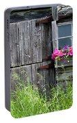 Planter On Log Barn Portable Battery Charger
