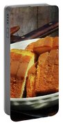 Plate With Sliced Bread And Knives Portable Battery Charger