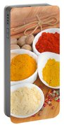 Plates Of Spices  Portable Battery Charger