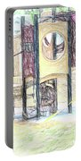Playground Equipment Sketch Portable Battery Charger