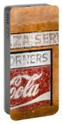 Plaza Corner Coca Cola Sign Portable Battery Charger