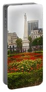 Plaza De Mayo In Buenos Aires-argentina  Portable Battery Charger