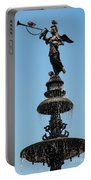 Plaza Mayor Fountain Portable Battery Charger