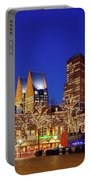 Plein At Blue Hour - The Hague Portable Battery Charger