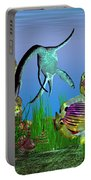 Plesiosaurus Attack Portable Battery Charger