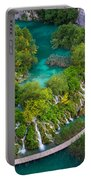 Plitvice Boardwalk Portable Battery Charger