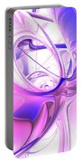 Plum Juices Abstract Portable Battery Charger