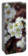 Plum Tree Blossoms II Portable Battery Charger