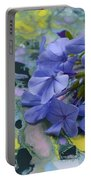 Plumbago Flowers Portable Battery Charger