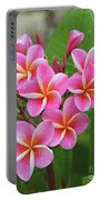 Plumeria After The Rain II Portable Battery Charger