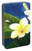 Plumeria Flower # 140 Portable Battery Charger