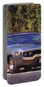 Plymouth Road Runner Portable Battery Charger