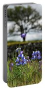 Pocket Of Lupines Portable Battery Charger