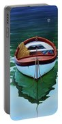 Coastal Wall Art, Poetic Light, Fishing Boat Paintings Portable Battery Charger