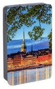 Poetic Stockholm Blue Hour Portable Battery Charger