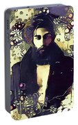 Poetry Man Portable Battery Charger