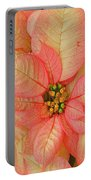 Poinsettia Passion Portable Battery Charger