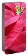 Poinsettias #1 Portable Battery Charger