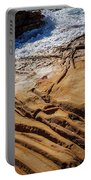 Point Lobos Abstract Portable Battery Charger