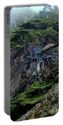 Point Lobos Veteran Cypress Tree Portable Battery Charger by Charlene Mitchell