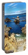 Point Lobos Whalers Cove- Seascape Art Portable Battery Charger