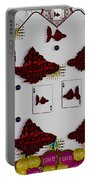 Poker Art Portable Battery Charger