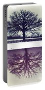 Polaroid Transfer Tree Portable Battery Charger by Jane Linders