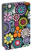Polka Dot Bouquet Portable Battery Charger