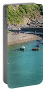 Polkerris Beach And Harbour Portable Battery Charger