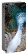 Pollat River Waterfall - Neuschwanstein Castle - Germany Portable Battery Charger