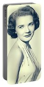 Polly Bergen, Vintage Actress Portable Battery Charger