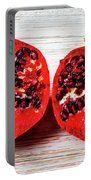 Pomegranate Cut In Half Portable Battery Charger