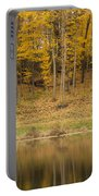 Pond And Woods Autumn 1 Portable Battery Charger