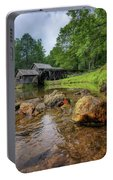 Pond At Mabry Mill Portable Battery Charger