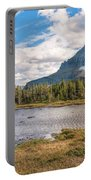 Pond At Nine Thousand Feet Portable Battery Charger