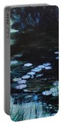 Pond At Port Meirion Portable Battery Charger