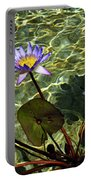 Pond Florals Portable Battery Charger