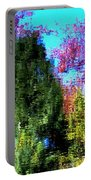 Pond Impressionism Portable Battery Charger