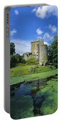 Pond In Front Of A Castle, Blarney Portable Battery Charger