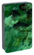 Pond Life Abstract Portable Battery Charger
