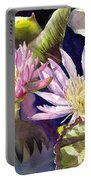 Pond Lilies Portable Battery Charger