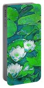Pond Lily 2 Portable Battery Charger