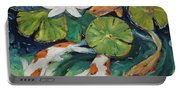 Pond Swimmers Koi Portable Battery Charger
